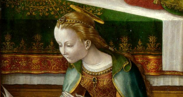 آیا این نقاشی کلاسیک، مریم مقدس را در کنار بشقاب پرنده نشان میدهد؟