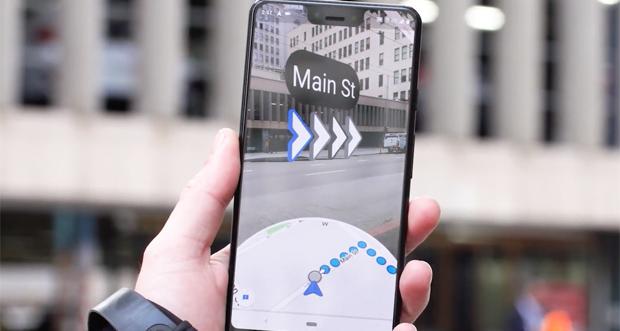 آزمایش قابلیت مکان یابی واقعیت افزوده در گوگل مپس آغاز شده است