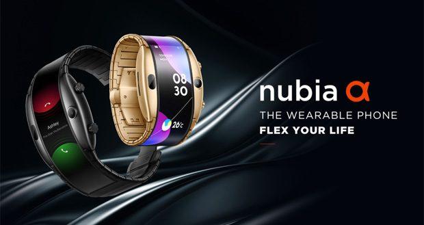 نوبیا آلفا یک گوشی پوشیدنی است که سلفی هم میگیرد!
