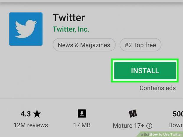 استفاده از توئیتر
