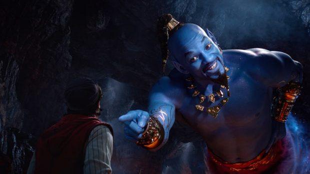 دیزنی عکسی از ویل اسمیت در نقش غول چراغ جادو فیلم علاءالدین 2019 را منتشر کرد