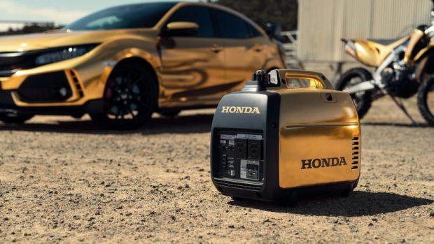 هوندا پنجاه سالگی خود را با محصولات طلاپوش جشن گرفت