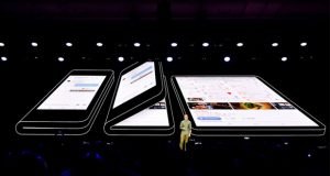 گوشی تاشو سامسونگ رسما گلکسی فولد (Galaxy Fold) نامیده میشود