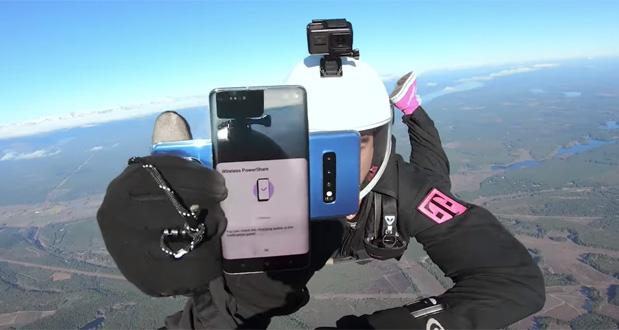 جعبه گشایی گلکسی اس 10 را بر فراز آسمانها تماشا کنید!