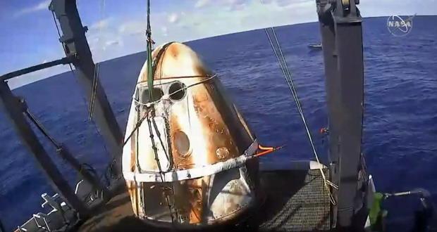 کپسول کرو دراگون SpaceX