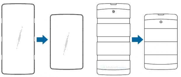 ال جی برای ساخت موبایل منعطفی آماده میشود که از هر طرف باز خواهد شد!