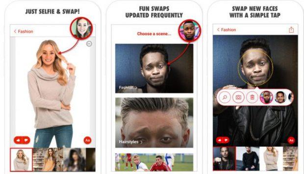 هترین اپلیکیشن های جابجایی صورت در تصاویر