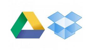انتقال فایل از گوگل درایو به دراپ باکس