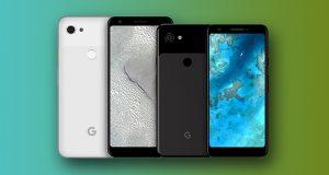 رندرهای رسمی گوگل پیکسل 3 ای و 3 ای ایکس ال