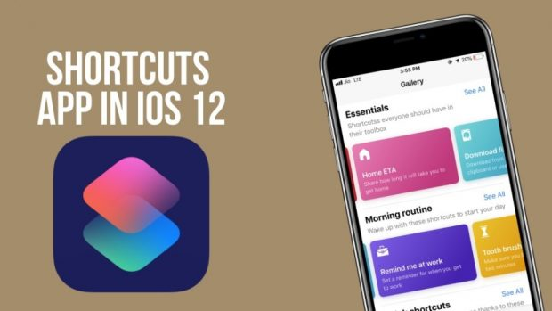 اپلیکیشن Shortcuts