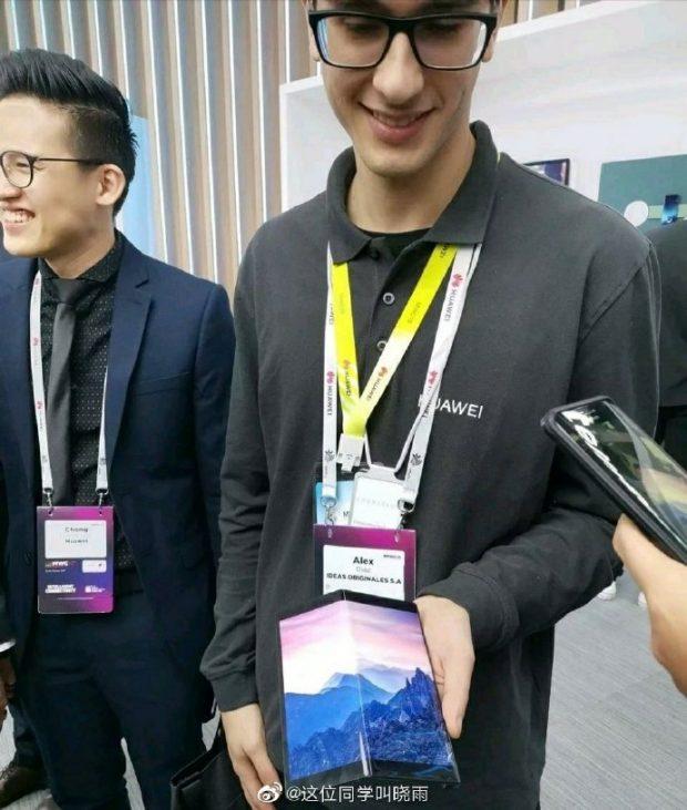 پروتوتایپ گوشی قابل انعطاف هواوی