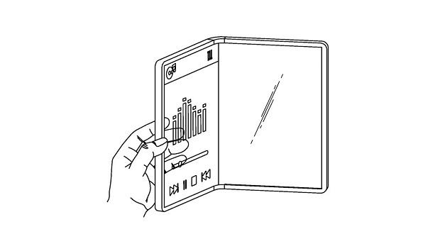 گوشی با نمایشگر شفاف