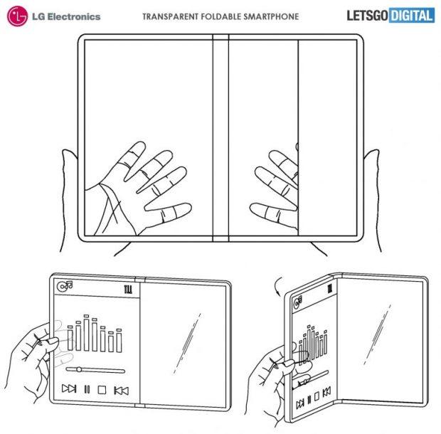 منعطف کافی نیست، ال جی به دنبال ساخت گوشی با نمایشگر شفاف است!