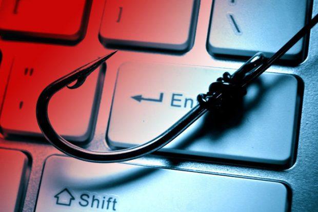 هک حساب بانکی فیشینگ