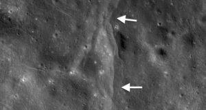 لکه های سیاه روی ماه