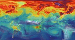 دی اکسید کربن در جو