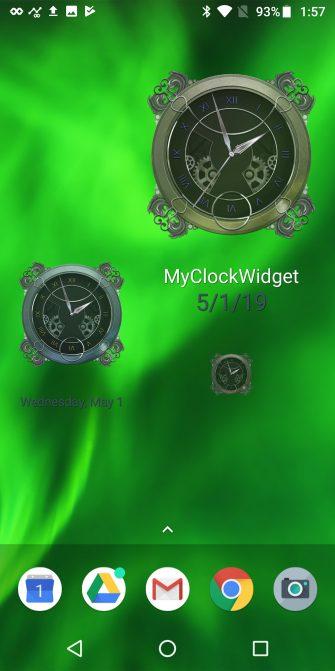 ویجت ساعت