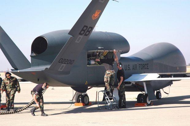 پهپاد جاسوسی گلوبال هاوک آمریکا