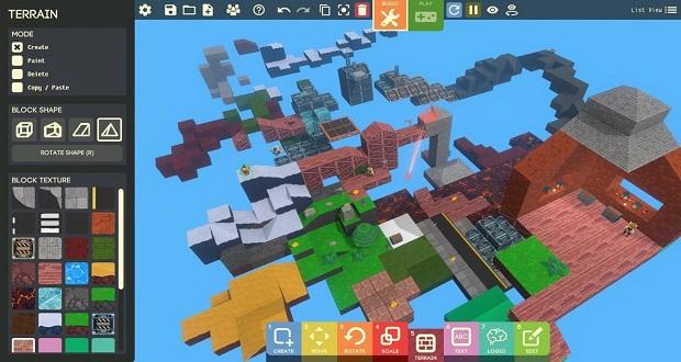 ابزار ساخت بازی Game Builder