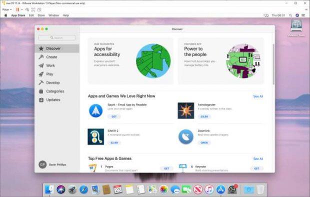 اجرای برنامه های مک در ویندوز
