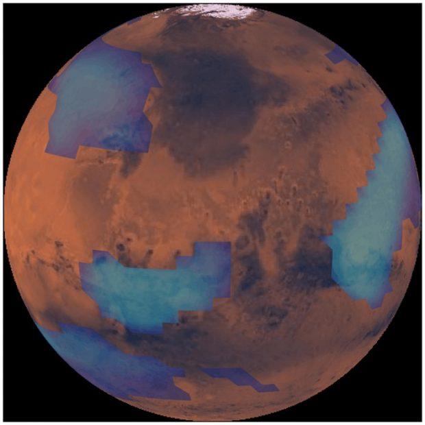 ابرهای مریخ