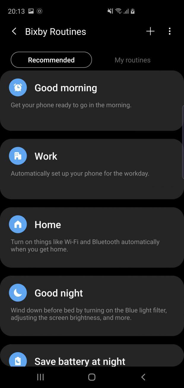 رابط کاربری One UI