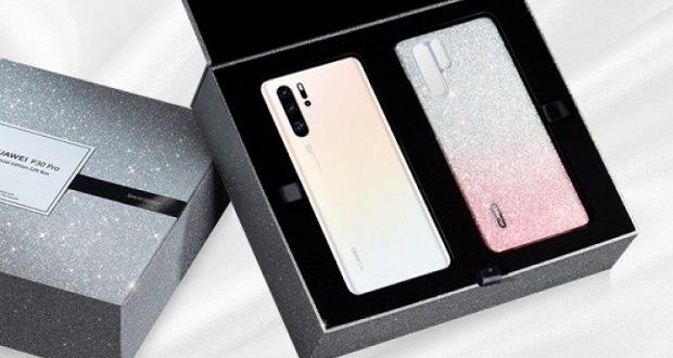 معرفی هواوی پی 30 پرو سفارشی با رنگ سفید مرواریدی و قاب Swarovski Crystal