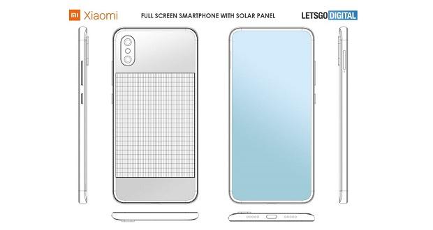 گوشی مجهز به پنل خورشیدی