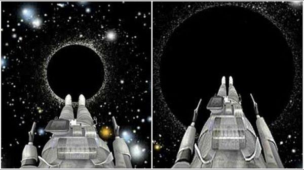 داخل سیاه چاله