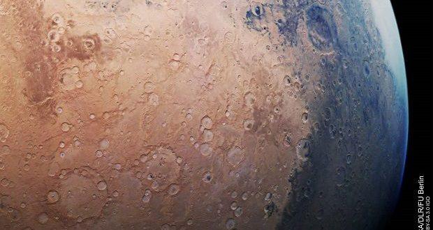 عکس جدید مریخ