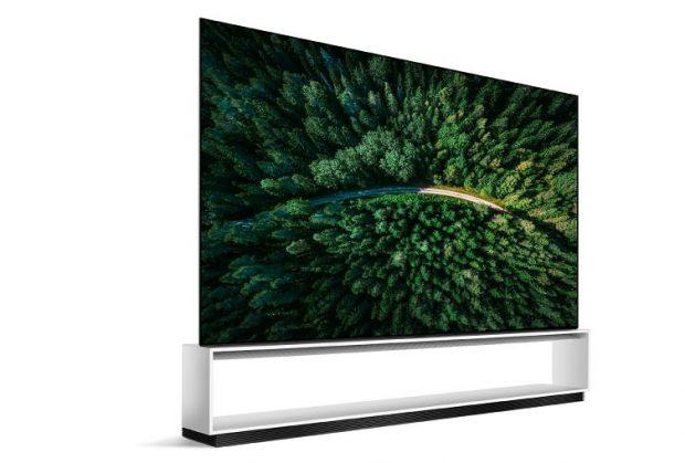 تلویزیون های 8k OLED ال جی