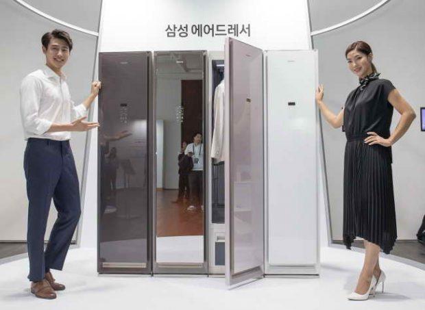 جالباسی سامسونگ AirDresser لباسهای شما را تمیز و تازه نگه میدارد