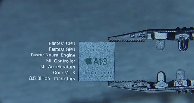 تراشه اپل A13