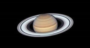 عکس با کیفیت از سیاره زحل