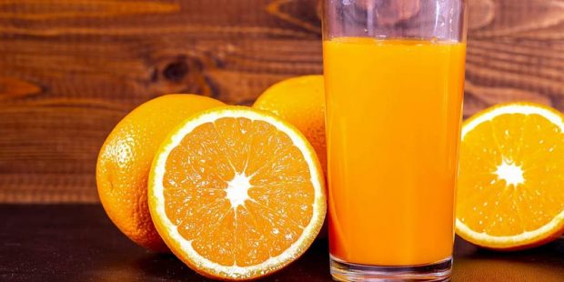 پرتقال و آب این میوه