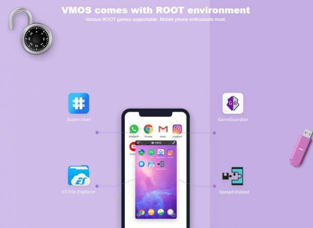 اپلیکیشن VMOS هواوی میت 30 پرو