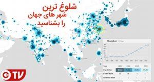 پرجمعیت ترین شهرهای جهان