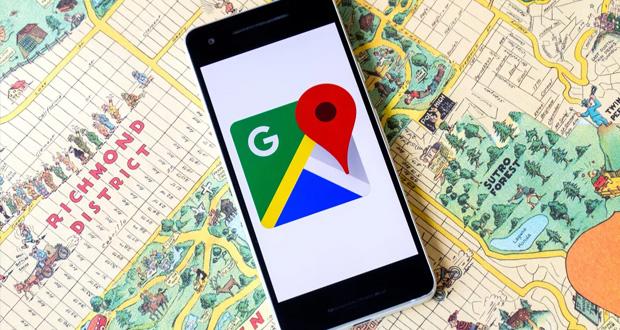 اپلیکیشن گوگل مپس
