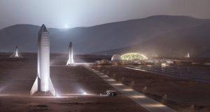 ساخت شهر در مریخ