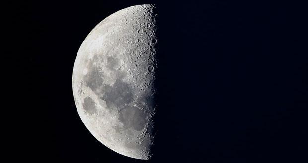 درخشش ماه