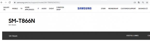 نسخه 5G تبلت گلکسی تب اس 6