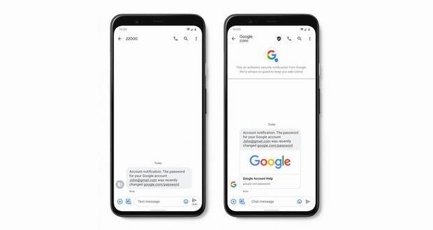 اپلیکیشن Messages گوگل