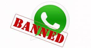 ممنوع شدن واتس اپ