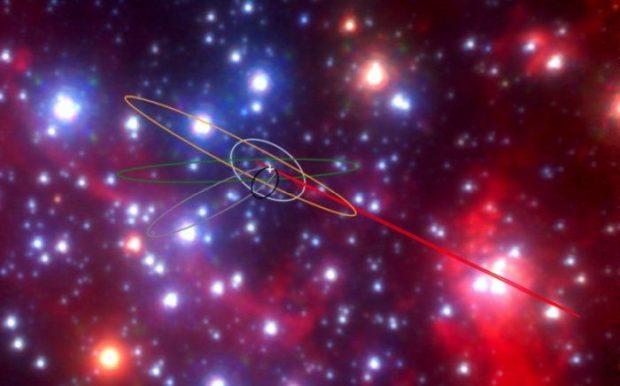 اشیاء عجیب و مرموزی در مرکز کهکشان راه شیری کشف شدهاند!
