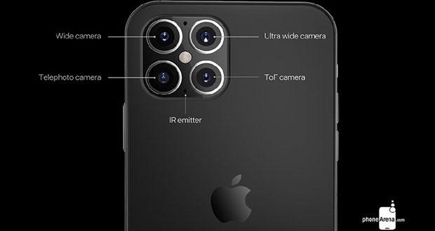 فیس آیدی و دوربین سه بعدی جدید در اپل آیفون 12 وجود خواهد داشت