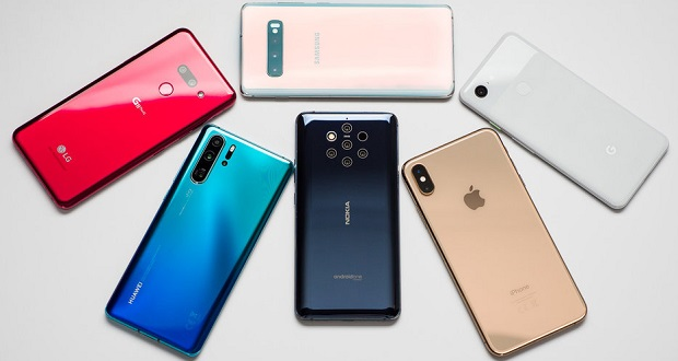 بازار گوشی های هوشمند