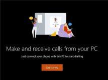برقراری تماس در ویندوز 10