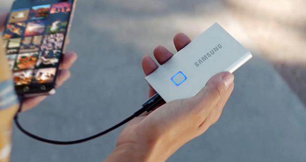 حافظه SSD سامسونگ T7 Touch