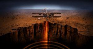 کاوشگر مریخی اینسایت امواج مغناطیسی عجیب و غریبی را کشف کرده است!