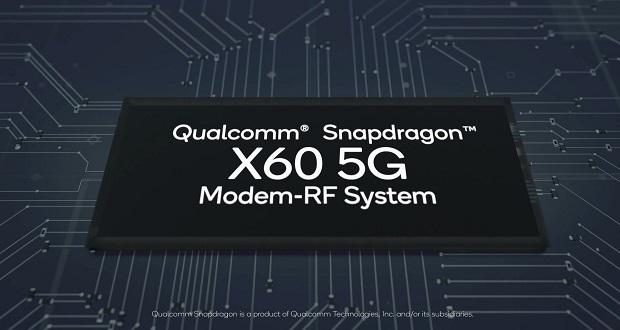 اسنپدراگون ایکس 60 به عنوان نسل جدید مودم موبایل 5G کوالکام معرفی شد